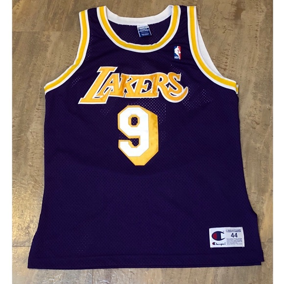d2db41f4d53 Champion Other - Champion Authentic LA Lakers Nick Van Exel Jersey